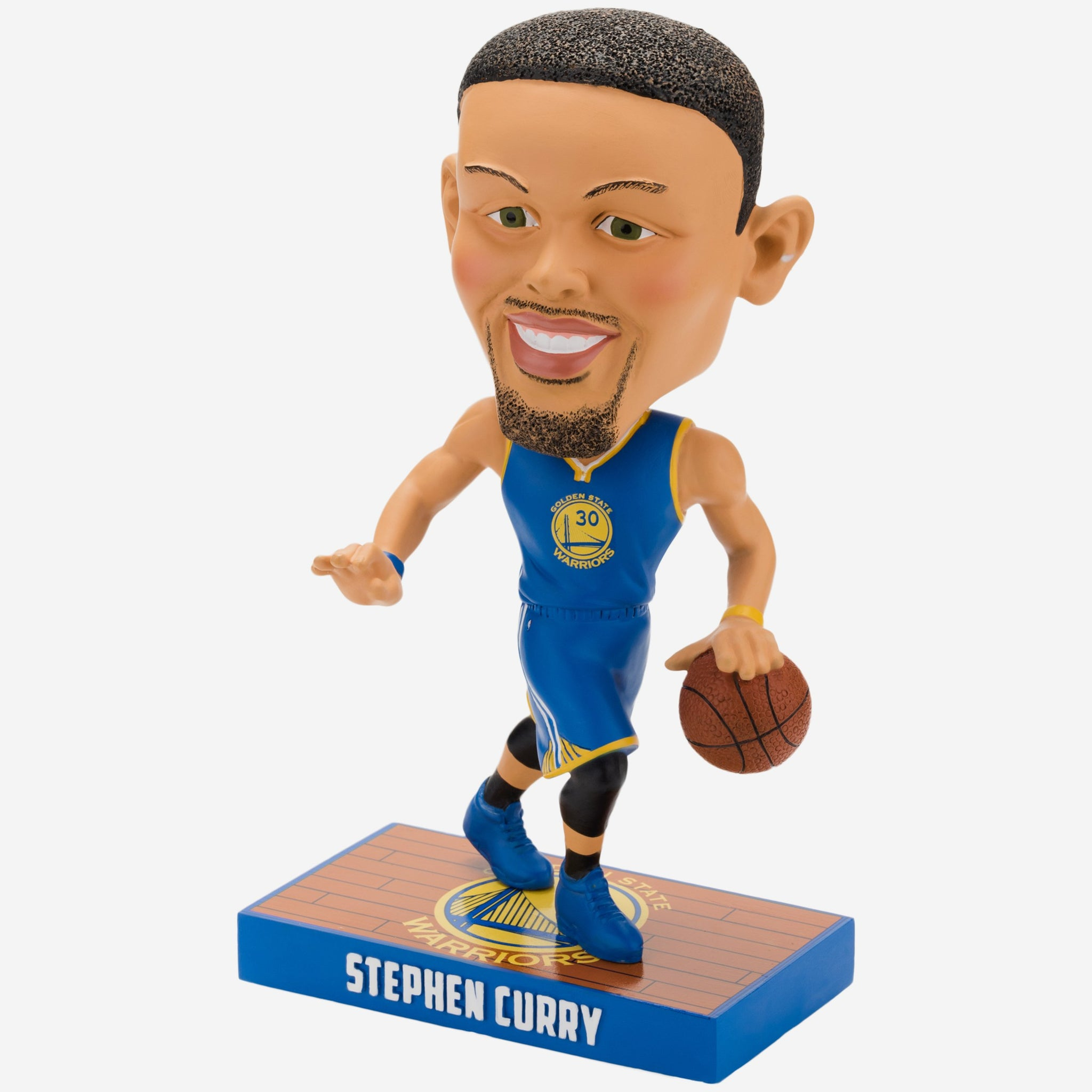 48616ffa1 Steph Curry Golden State Warriors Caricature Bobblehead FOCO - FOCO.com