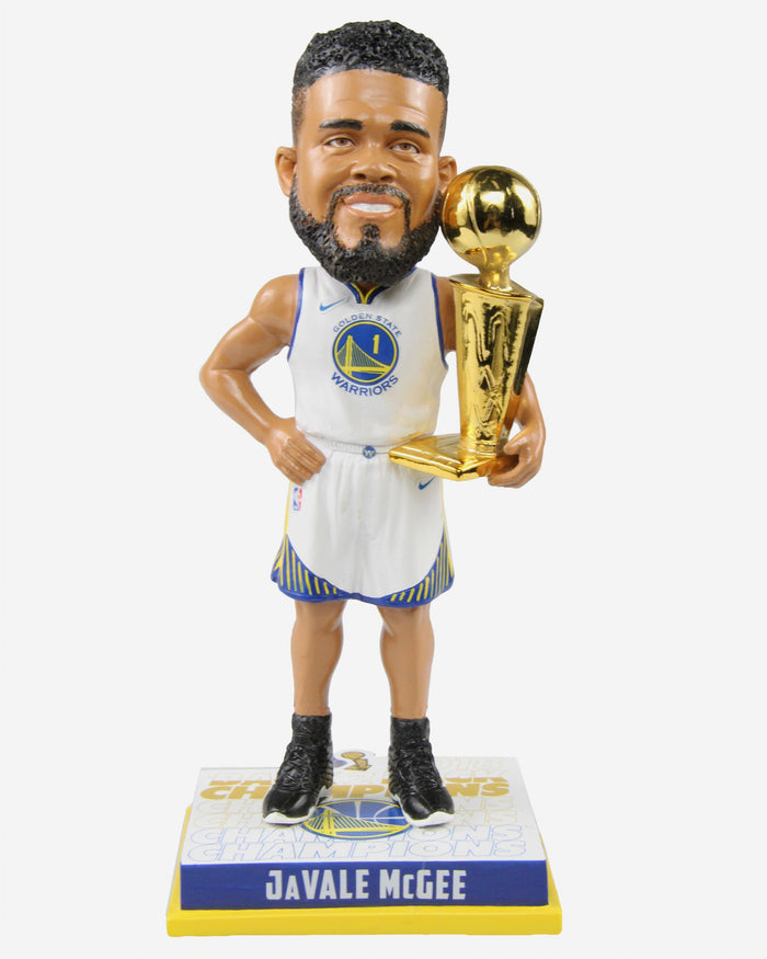 JaVale McGee Golden State Warriors 2018 NBA Champions Bobblehead FOCO - FOCO.com