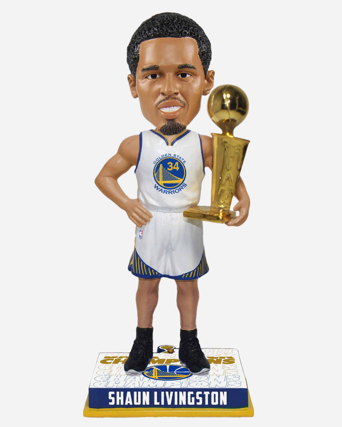 Shaun Livingston Golden State Warriors 2018 NBA Champions Bobblehead FOCO - FOCO.com