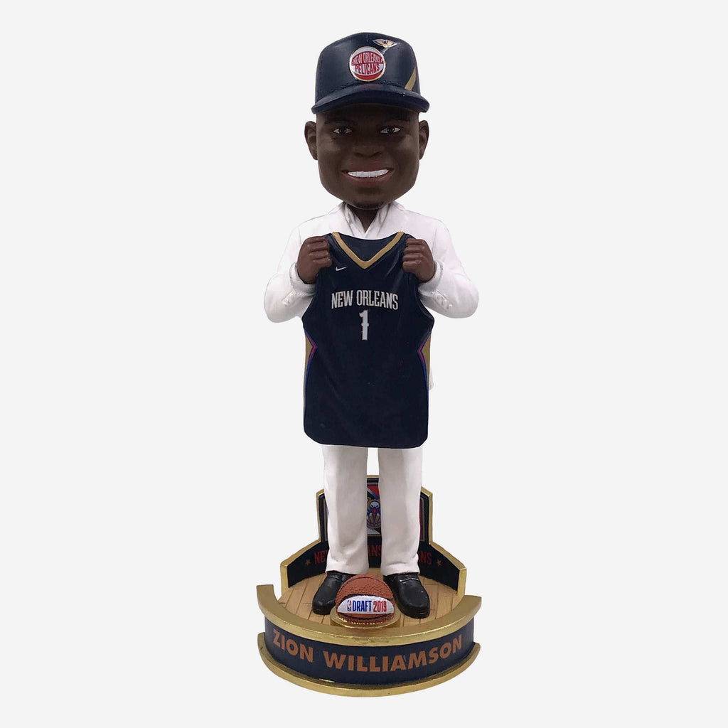 Zion Williamson New Orleans Pelicans 2019 NBA Draft Pick #1 Bobblehead FOCO - FOCO.com
