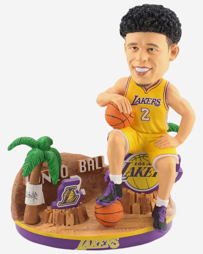 Lonzo Ball Los Angeles Lakers Breakthrough Series Bobblehead FOCO - FOCO.com