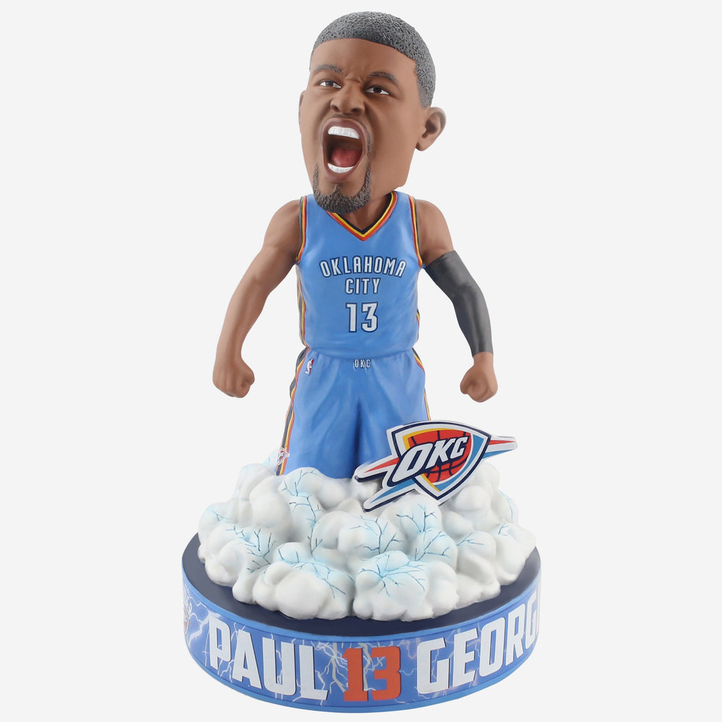 Paul George Oklahoma City Thunder Series Breakthrough Bobblehead FOCO - FOCO.com