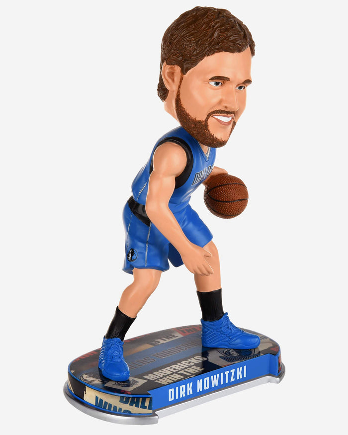 Dirk Nowitzki Dallas Mavericks Headline Bobblehead FOCO - FOCO.com