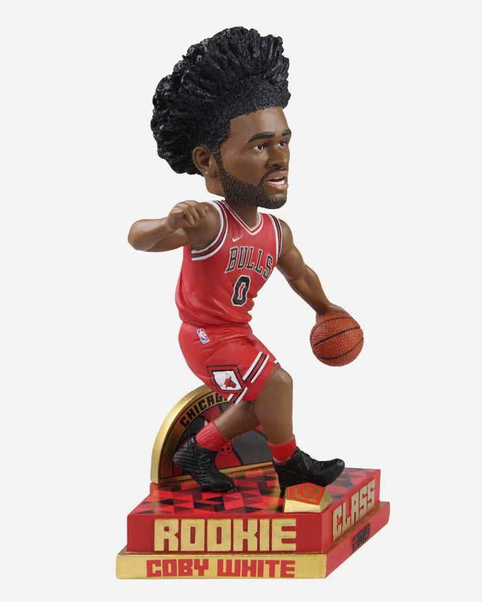 Coby White Chicago Bulls 2019 Rookie Class Bobblehead FOCO - FOCO.com