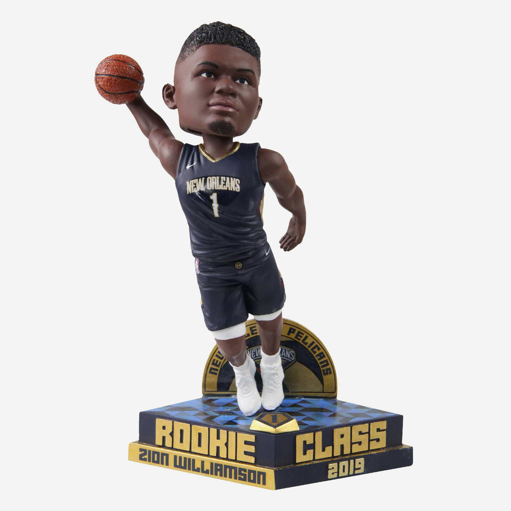 Zion Williamson New Orleans Pelicans 2019 Rookie Class Bobblehead FOCO - FOCO.com