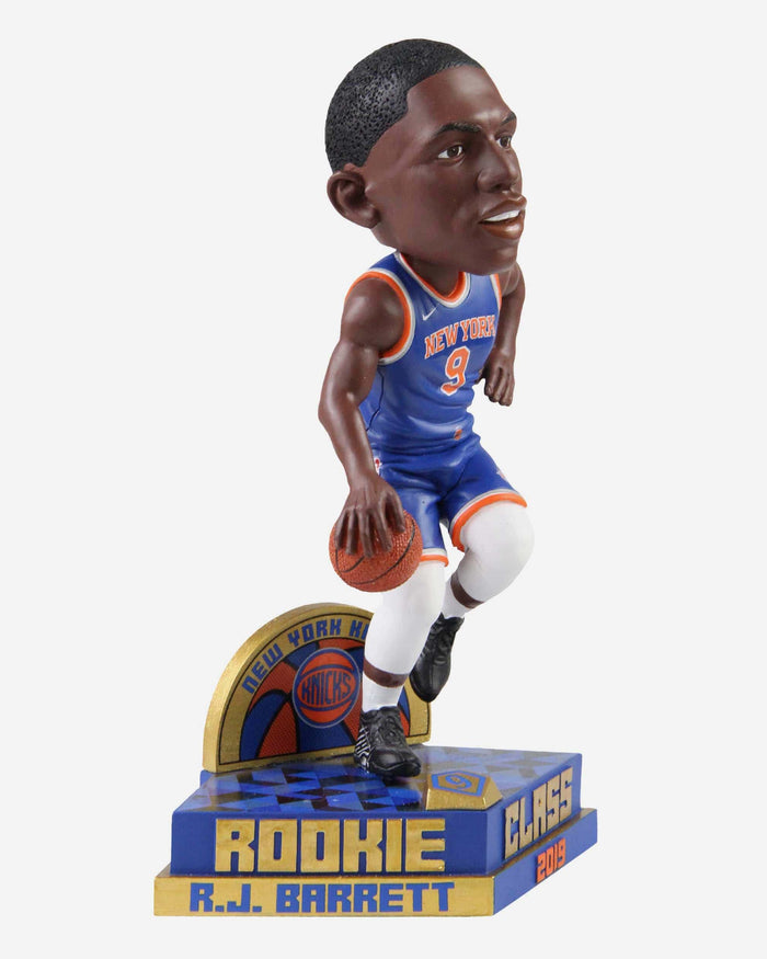 RJ Barrett New York Knicks 2019 Rookie Class Bobblehead FOCO - FOCO.com