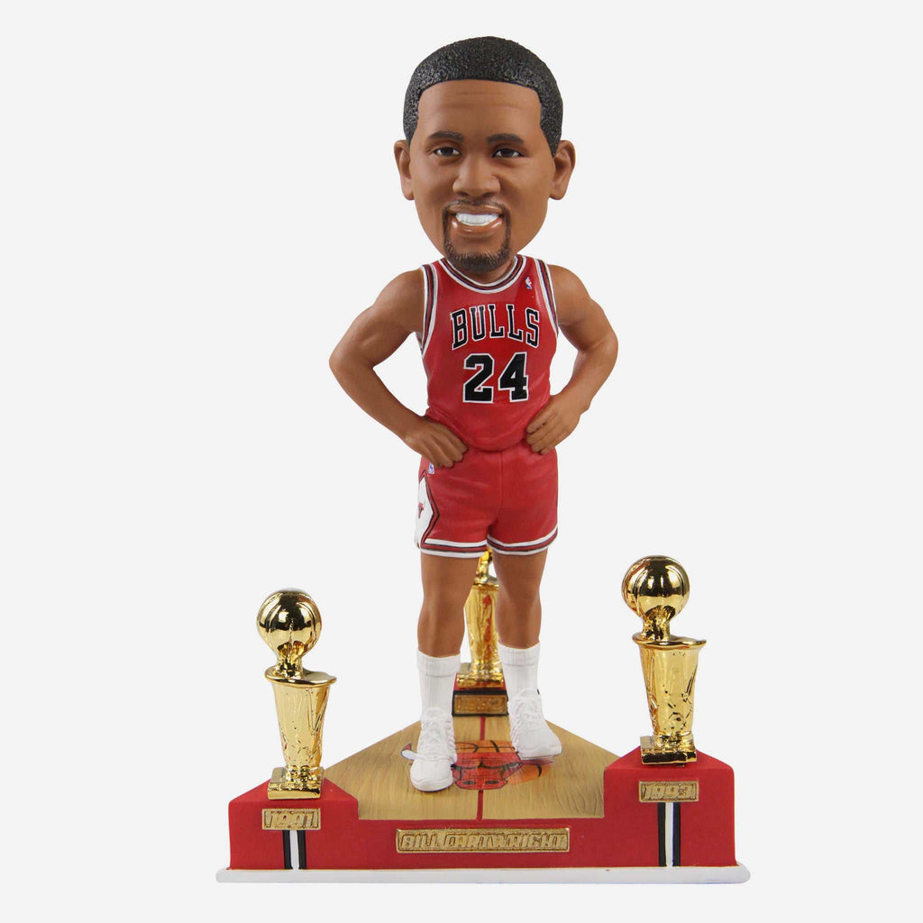 Bill Cartwright Chicago Bulls 3X NBA Champion Bobblehead FOCO - FOCO.com