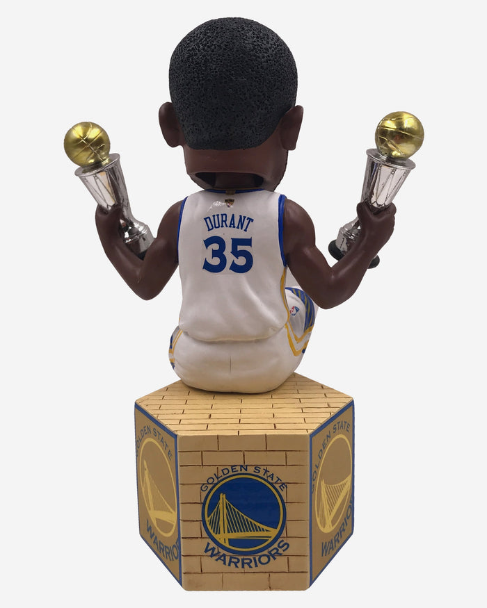 Kevin Durant Golden State Warriors Back To Back MVP Bobblehead FOCO - FOCO.com