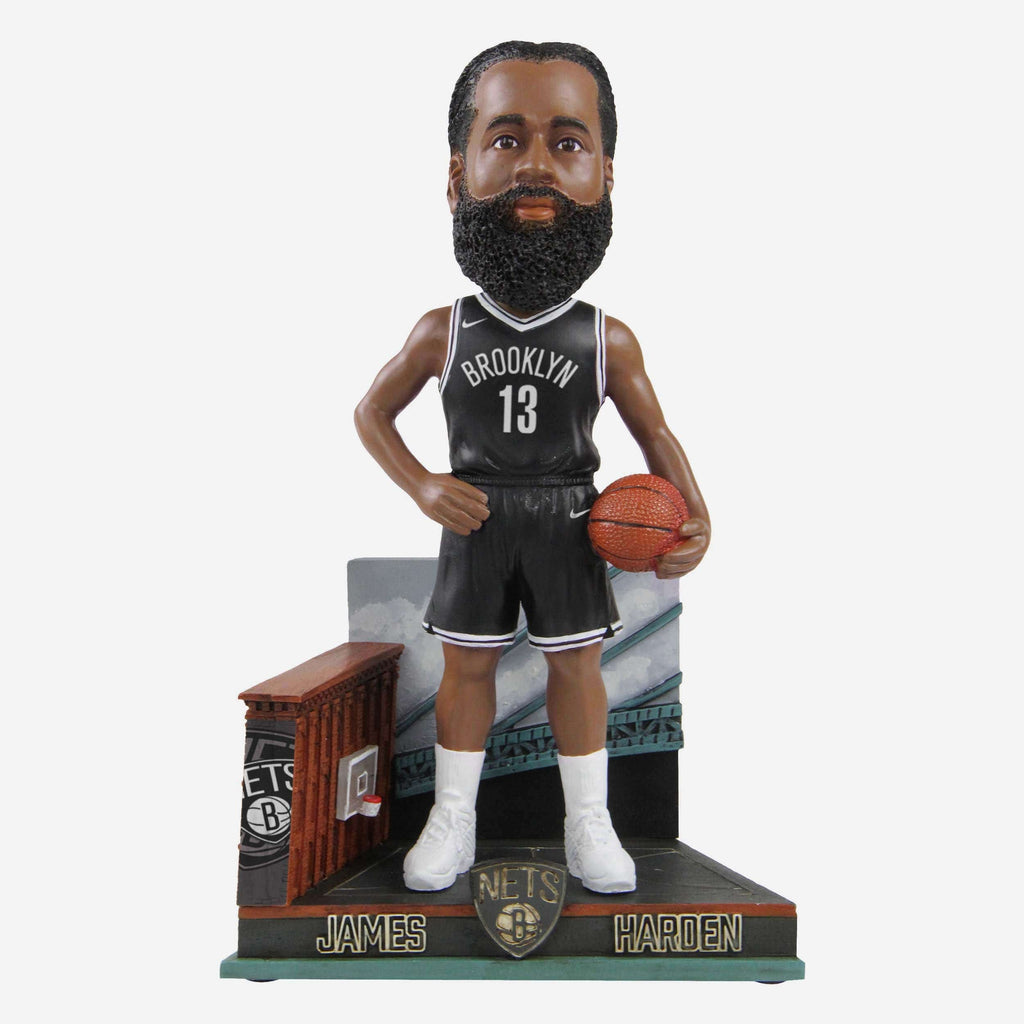 James Harden Brooklyn Nets Big 3 Bobblehead FOCO - FOCO.com