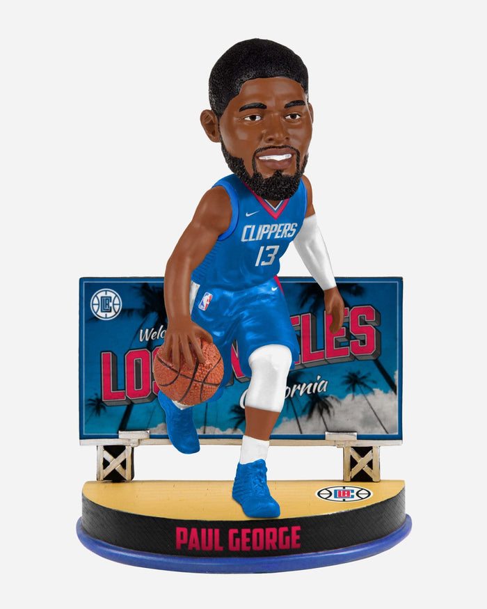 Paul George Los Angeles Clippers Billboard Bobblehead FOCO - FOCO.com