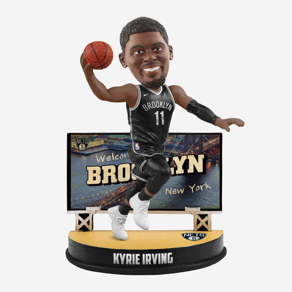 Kyrie Irving Brooklyn Nets Billboard Bobblehead FOCO - FOCO.com