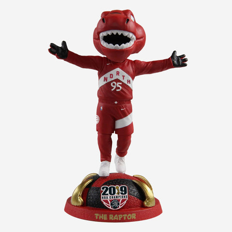 The Raptor Toronto Raptors 2019 NBA Champions City Jersey Bobblehead