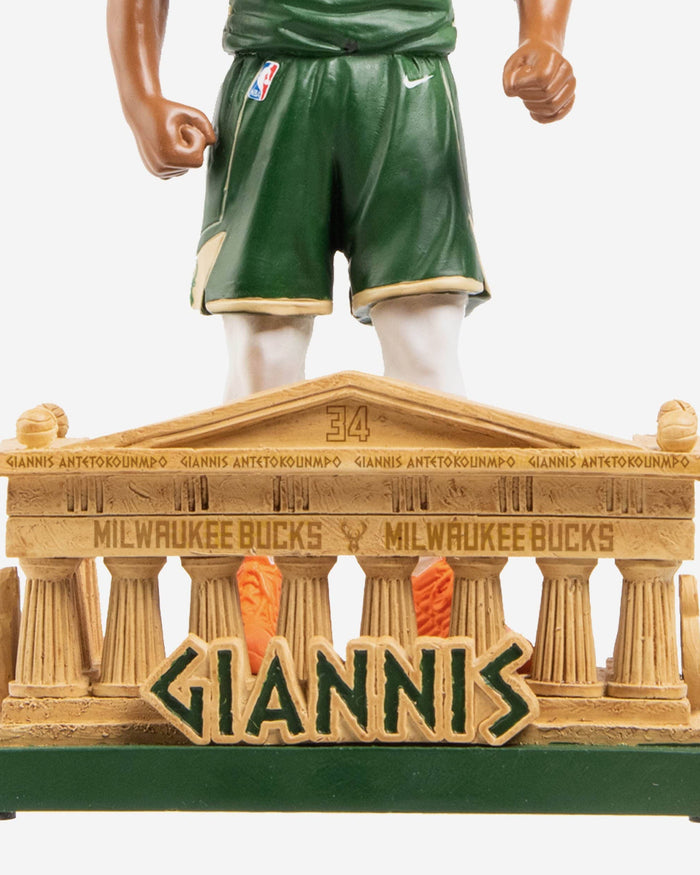 Giannis Antetokounmpo Milwaukee Bucks Greece Bobblehead FOCO - FOCO.com