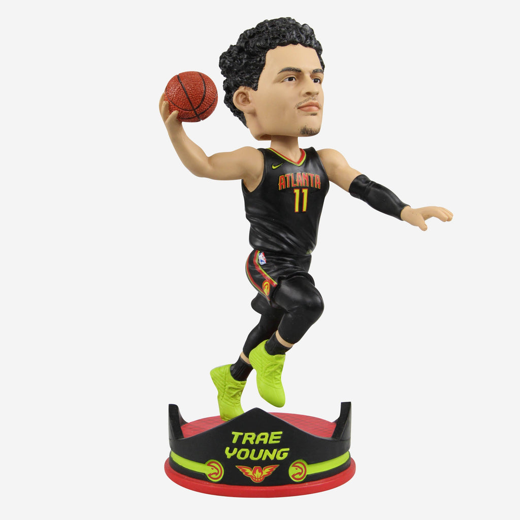 Trae Young Atlanta Hawks Rookie Thematic Base Bobblehead FOCO - FOCO.com