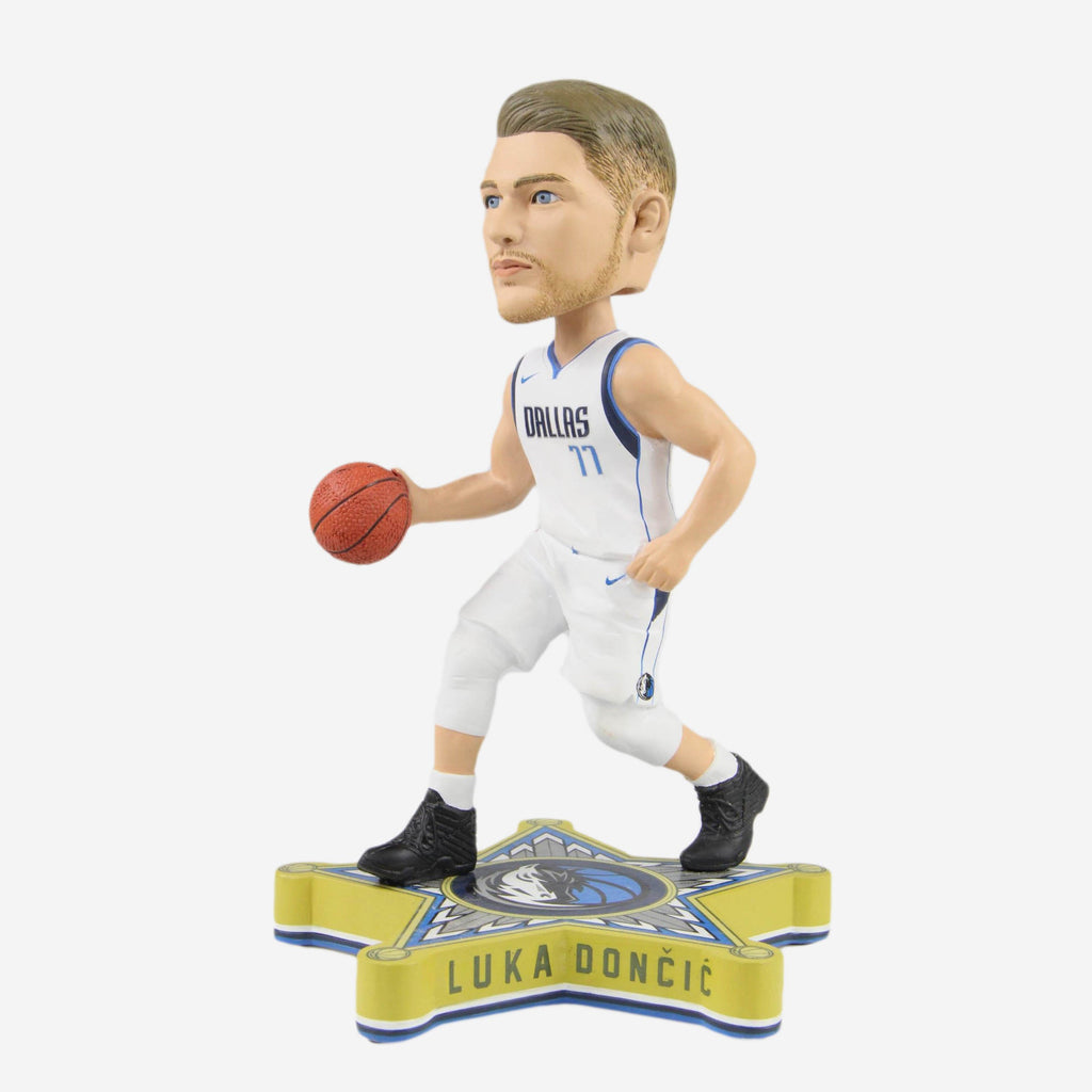 Luka Doncic Dallas Mavericks Rookie Thematic Base Bobblehead FOCO - FOCO.com