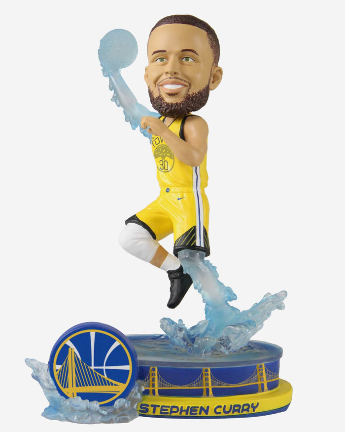 Steph Curry Golden State Warriors Thematic Bobblehead FOCO - FOCO.com