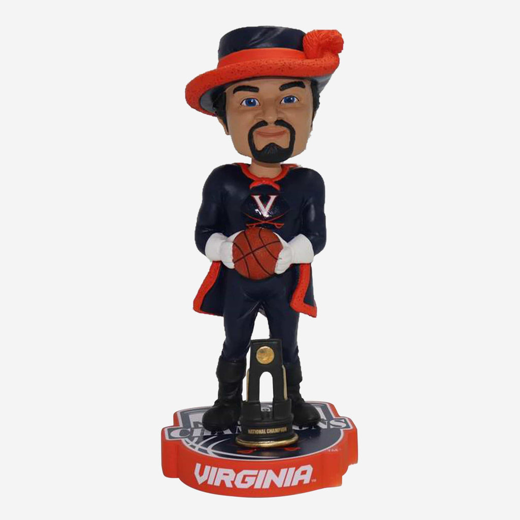 Cav Man Virginia Cavaliers 2019 NCAA Mens Basketball National Champions Mascot Bobblehead FOCO - FOCO.com