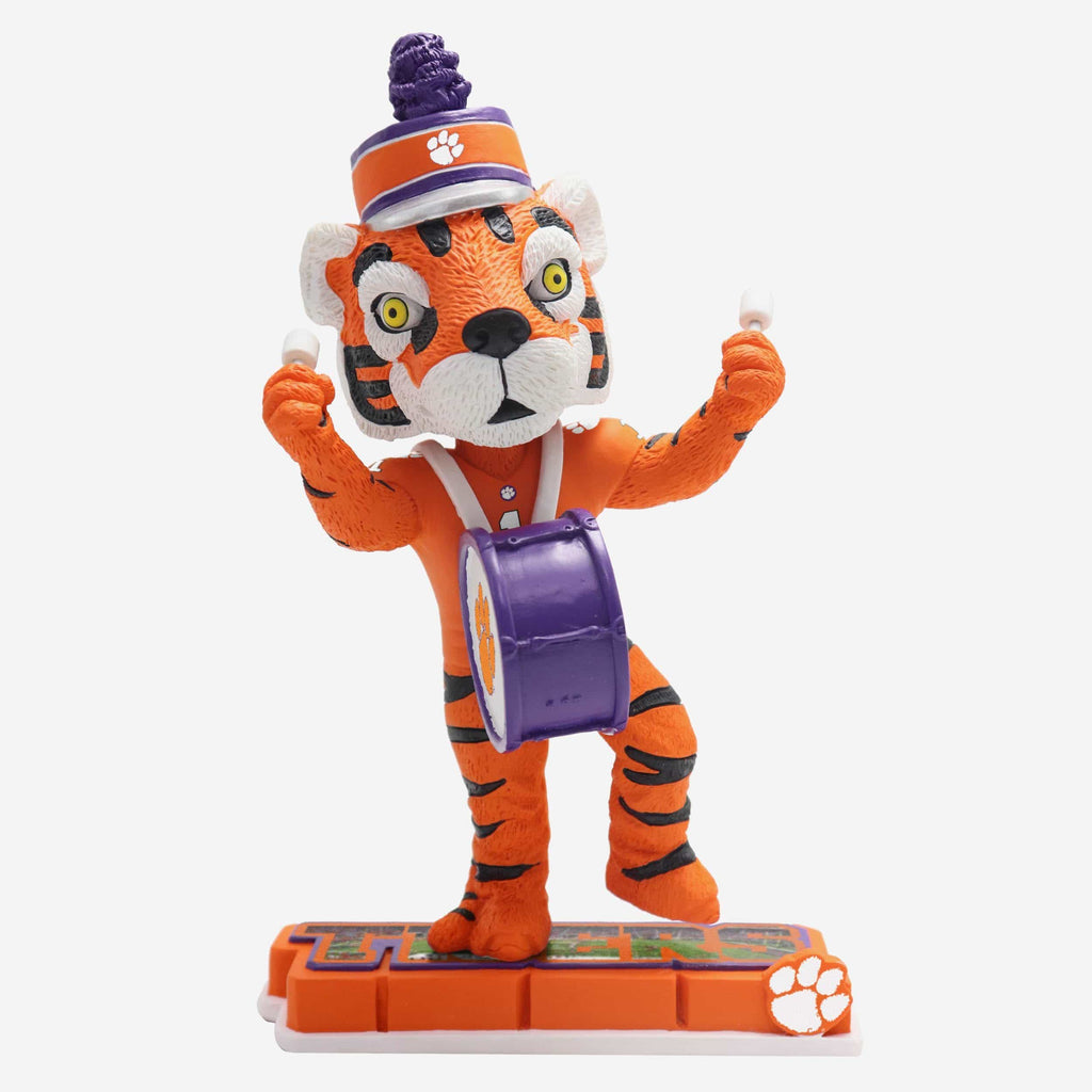 The Tiger Clemson Tigers Halftime Heroes Mascot Bobblehead FOCO - FOCO.com