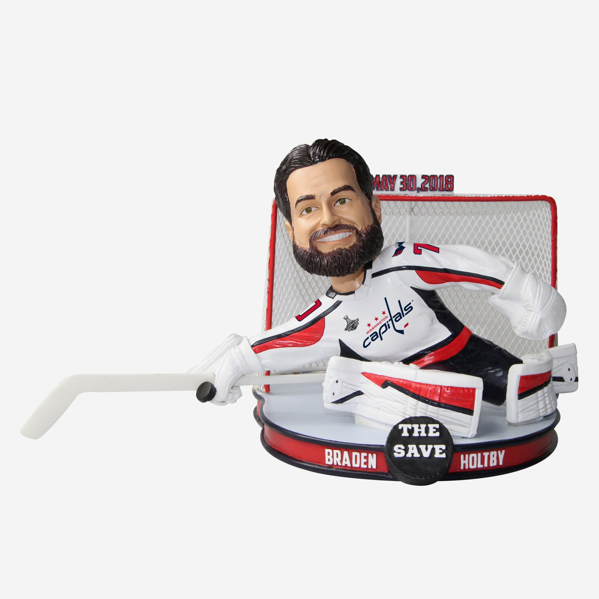 Braden Holtby Washington Capitals The Save Bobblehead
