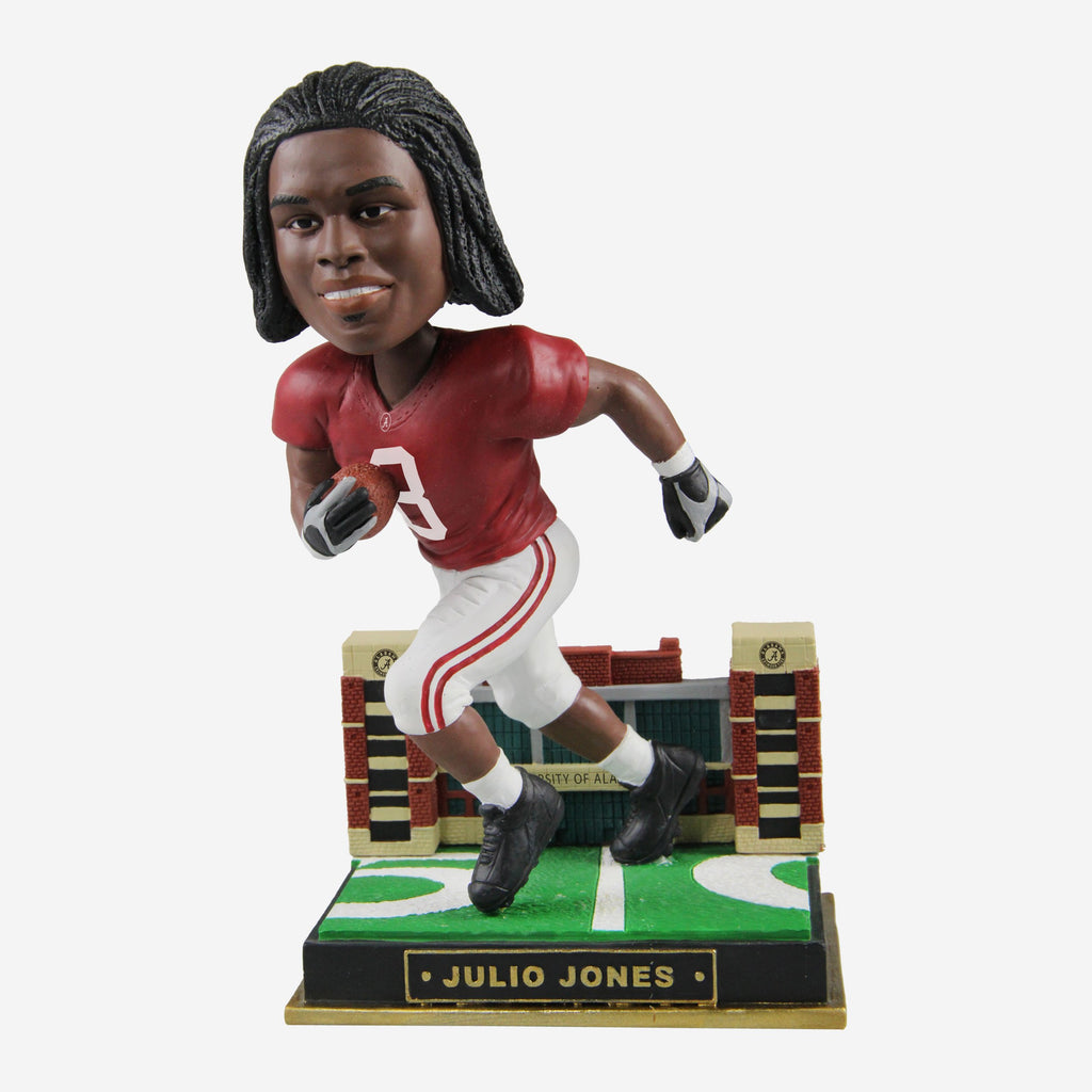 Julio Jones Alabam Crimson Tide Gates Series Bobblehead
