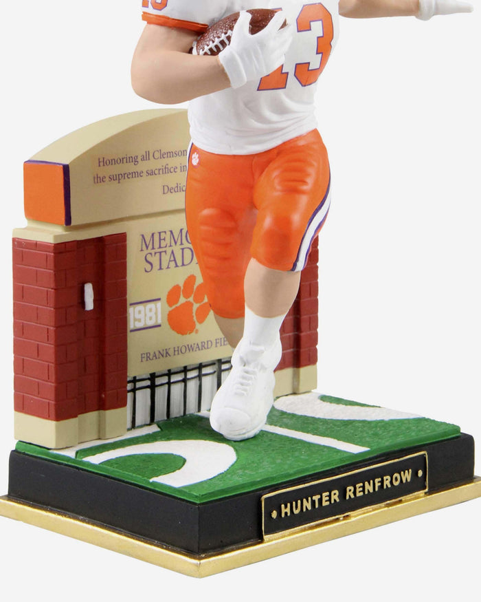Hunter Renfrow Clemson Tigers Gates Series Bobblehead FOCO - FOCO.com
