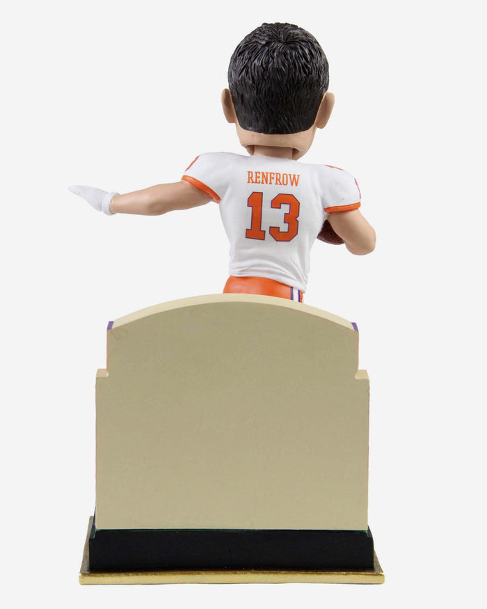 Hunter Renfrow Clemson Tigers Gate Series Bobblehead FOCO - FOCO.com