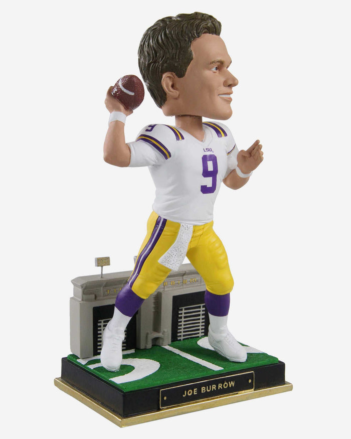 Joe Burrow LSU Tigers Gates Series Bobblehead FOCO - FOCO.com