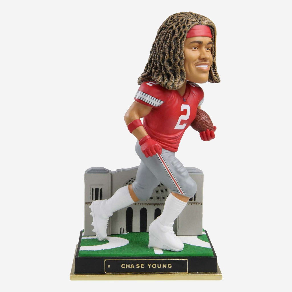 Chase Young Ohio State Buckeyes Gates Series Bobblehead FOCO - FOCO.com