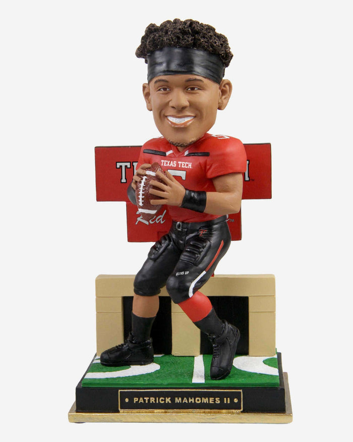 Patrick Mahomes Texas Tech Red Raiders Gates Series Bobblehead FOCO - FOCO.com