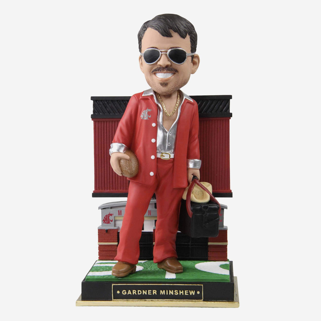 Gardner Minshew Washington State Cougars Gate Series Bobblehead FOCO - FOCO.com