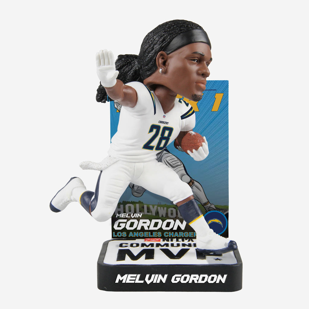 Melvin Gordon 2018 Community MVP Award Bobblehead