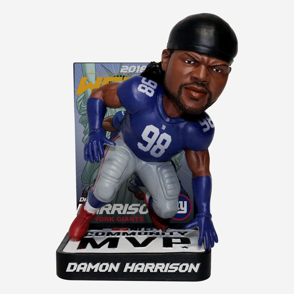 Damon Harrison 2018 Community MVP Award Bobblehead