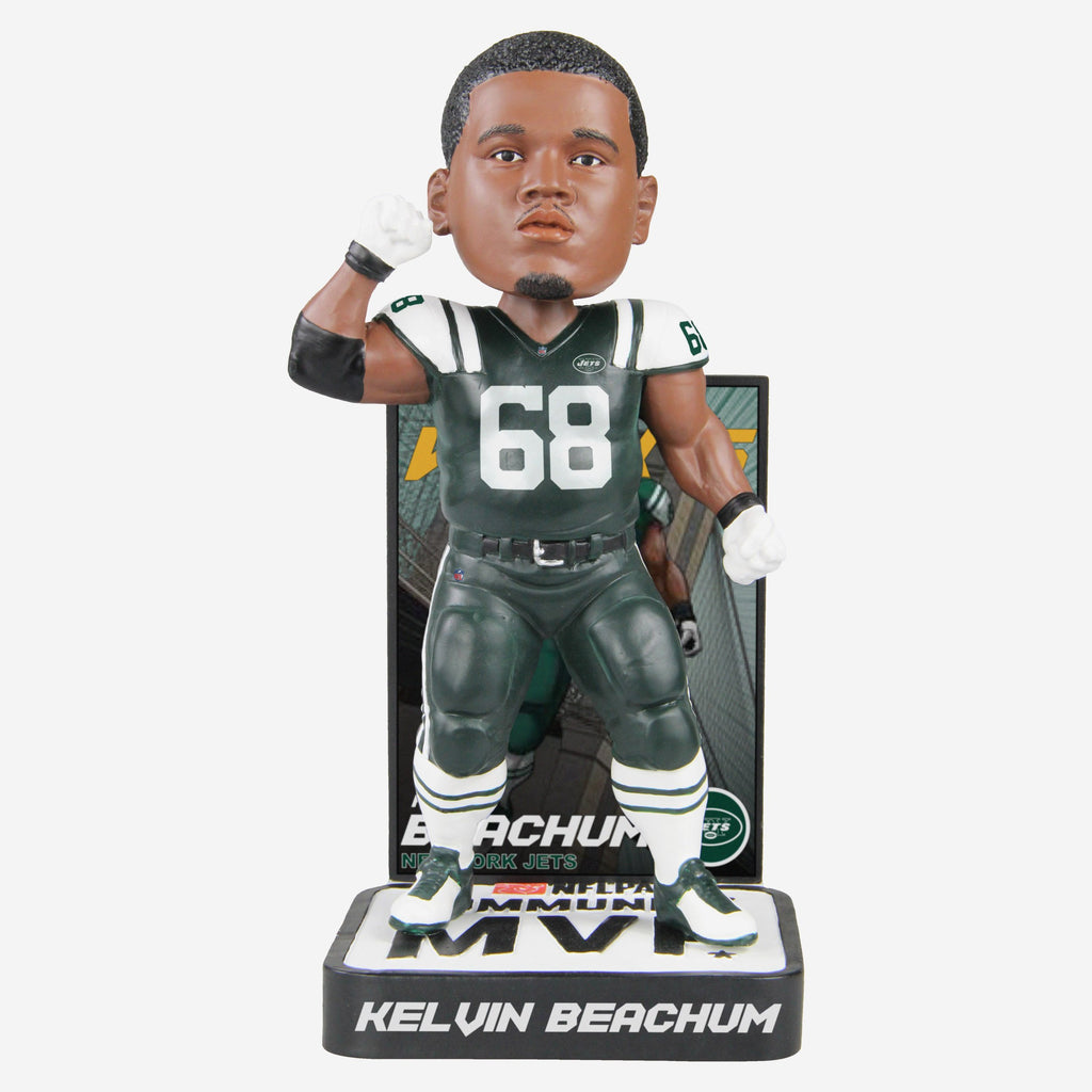 Kelvin Beachum New York Jets 2018 Community MVP Award Bobblehead FOCO - FOCO.com