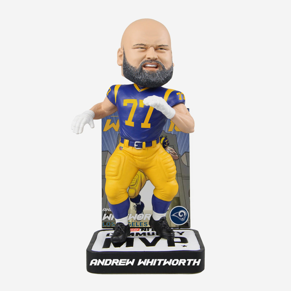 Andrew Whitworth 2018 Community MVP Award Bobblehead