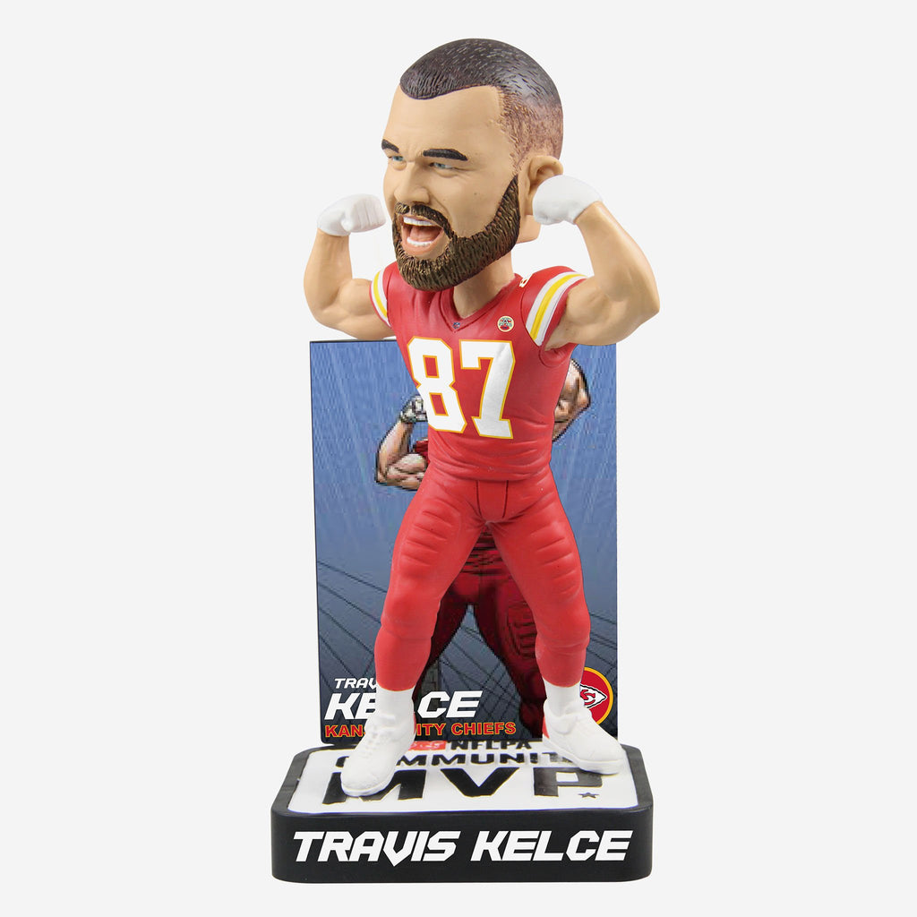 Travis Kelce 2018 Community MVP Award Bobblehead
