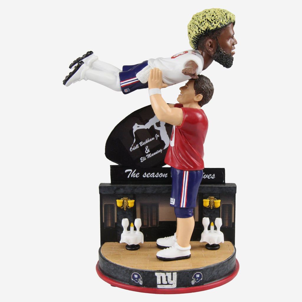 Eli Manning and Odell Beckham Jr New York Giants Dancing Bobblehead