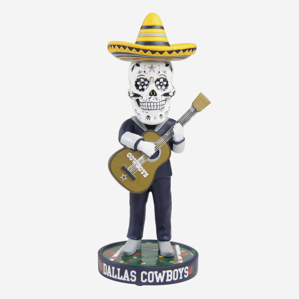 Dallas Cowboys Day Of The Dead Bobblehead FOCO - FOCO.com