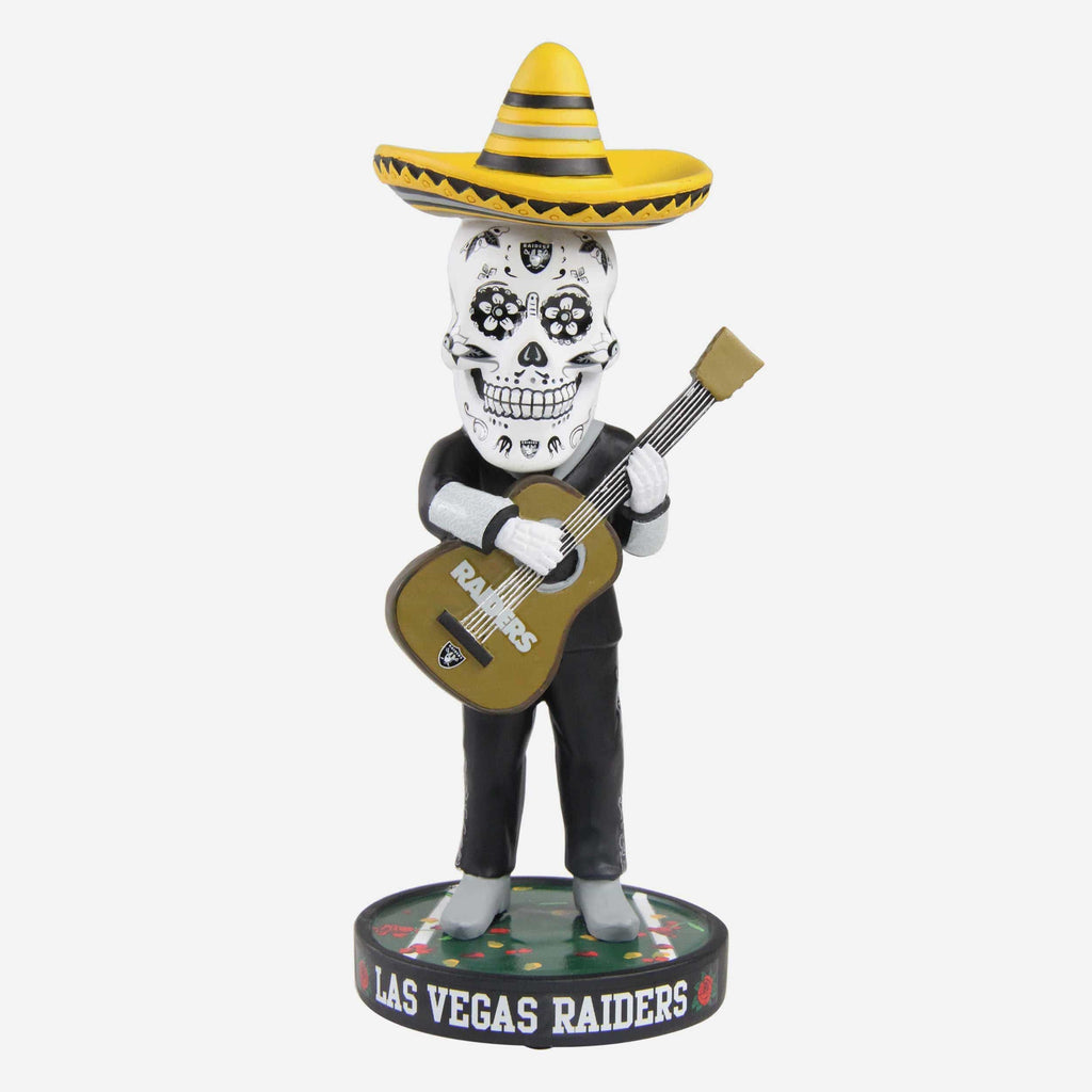 Las Vegas Raiders Day Of The Dead Bobblehead FOCO - FOCO.com