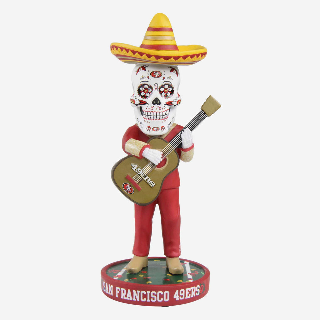 San Francisco 49ers Day Of The Dead Bobblehead FOCO - FOCO.com