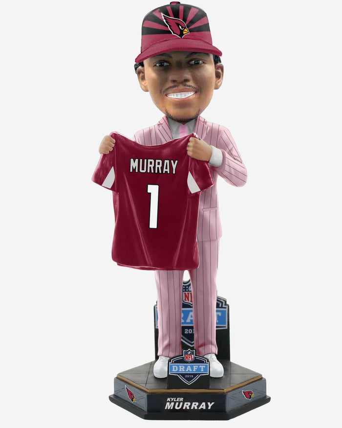 Kyler Murray Arizona Cardinals 2019 NFL Draft Pick #1 Bobblehead FOCO - FOCO.com