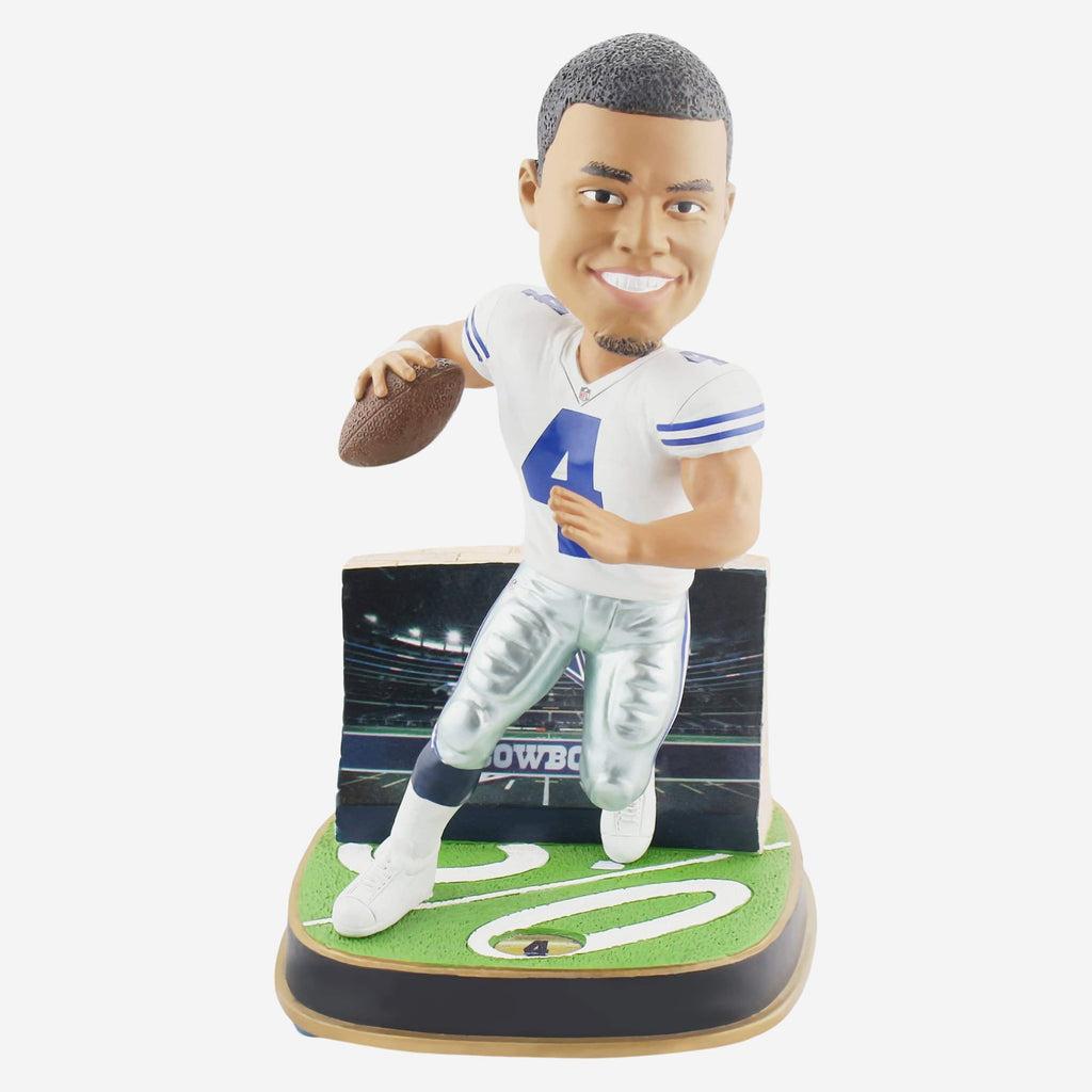 Dak Prescott Dallas Cowboys Game Day Stadium Bobblehead FOCO - FOCO.com