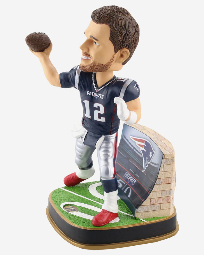 Tom Brady New England Patriots Game Day Stadium Bobblehead FOCO - FOCO.com