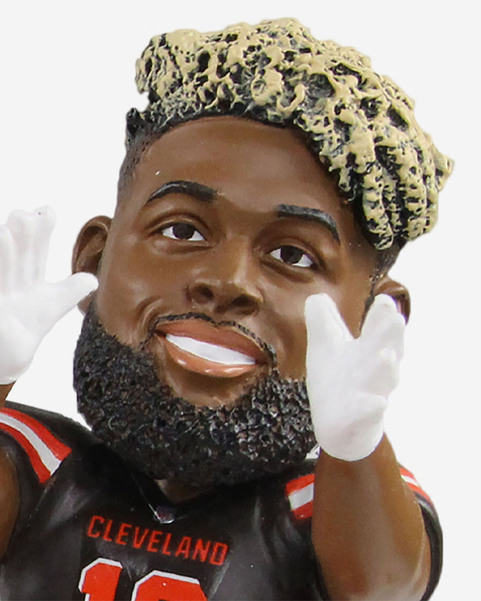 Baker Mayfield & Odell Beckham Jr Cleveland Browns Dual Passing Bobblehead FOCO - FOCO.com
