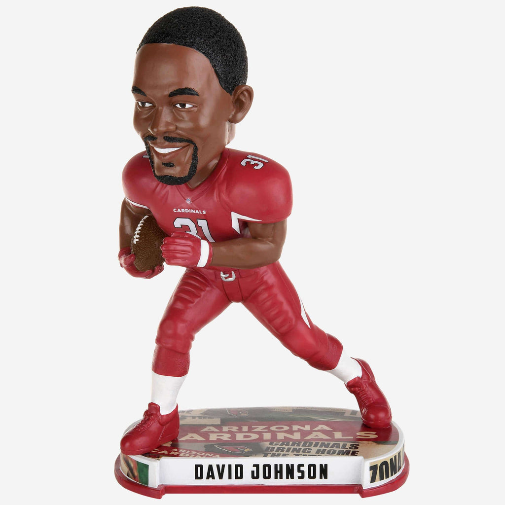 David Johnson Arizona Cardinals Headline Bobblehead FOCO - FOCO.com