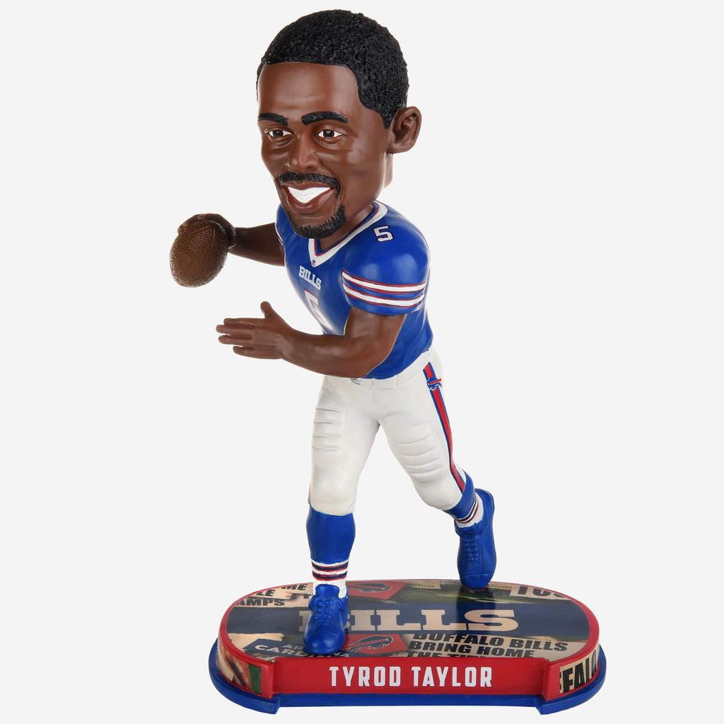 Tyrod Taylor Buffalo Bills Headline Bobblehead