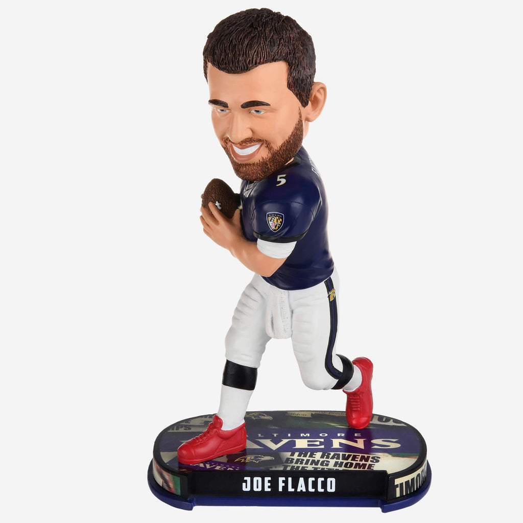 Joe Flacco Baltimore Ravens Headline Bobblehead