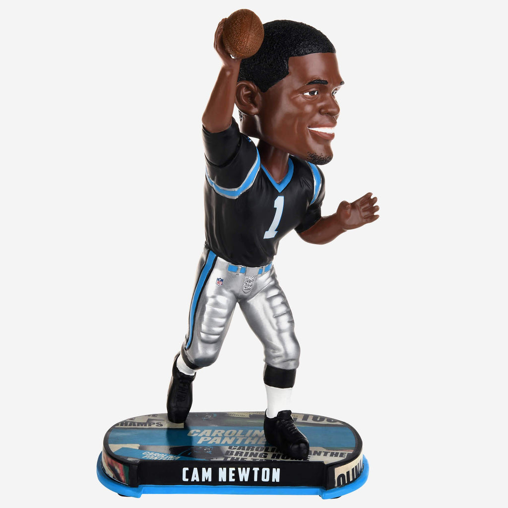 Cam Newton Carolina Panthers Headline Bobblehead FOCO - FOCO.com
