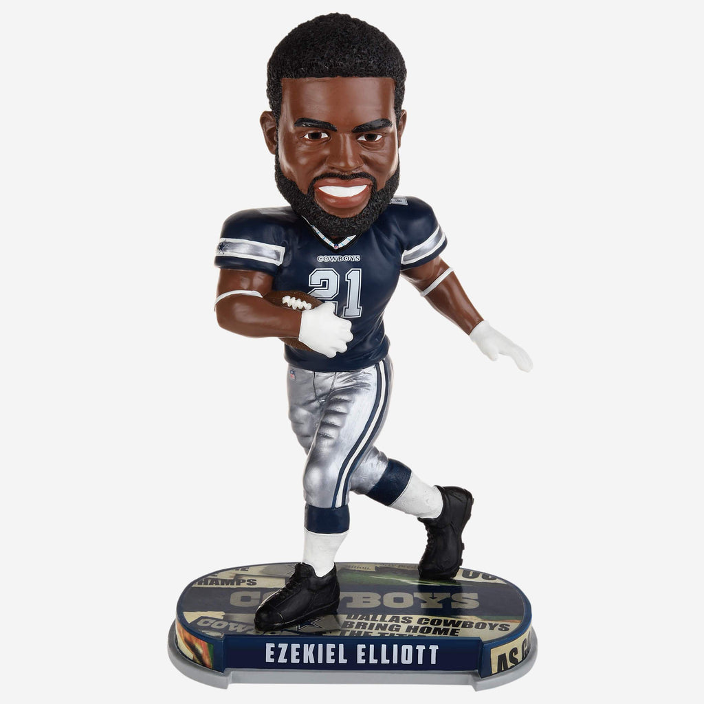 Ezekiel Elliott Dallas Cowboys Headline Bobblehead