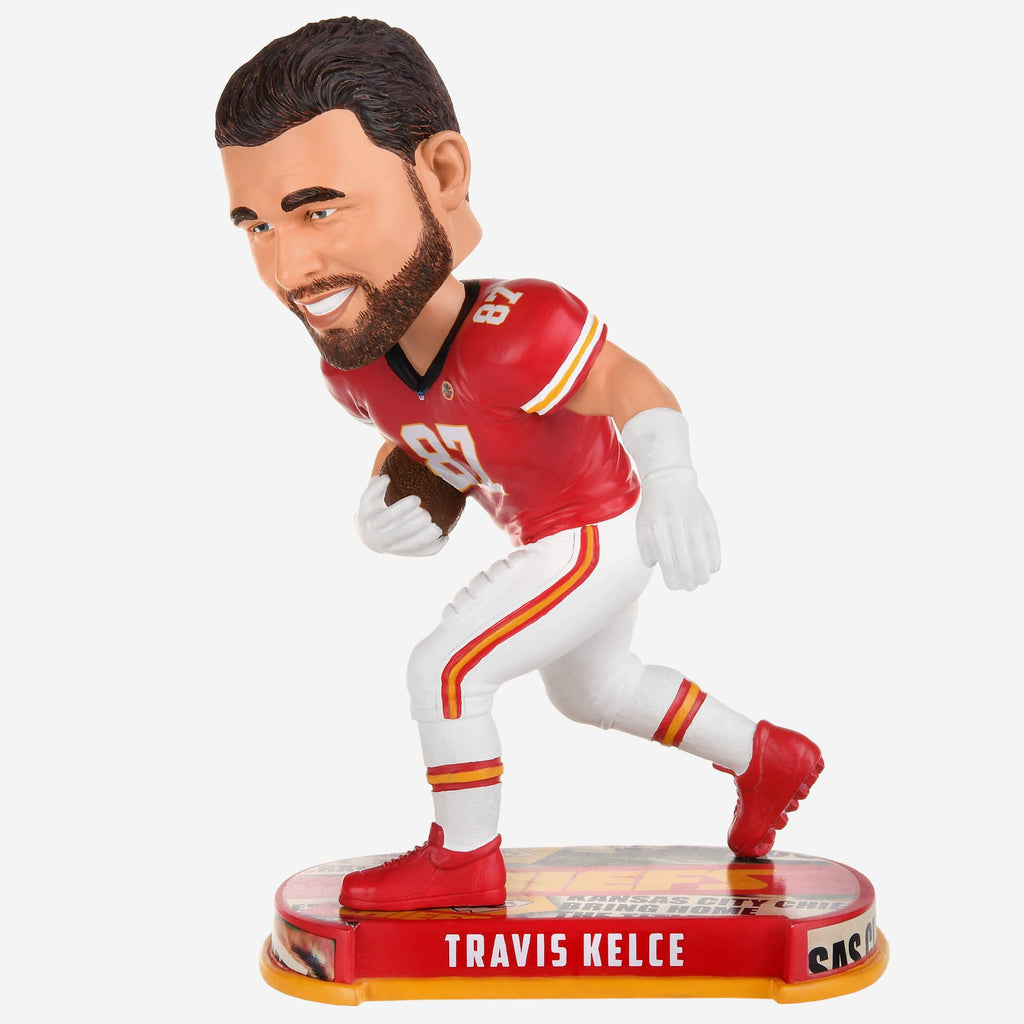 Travis Kelce Kansas City Chiefs Headline Bobblehead FOCO - FOCO.com