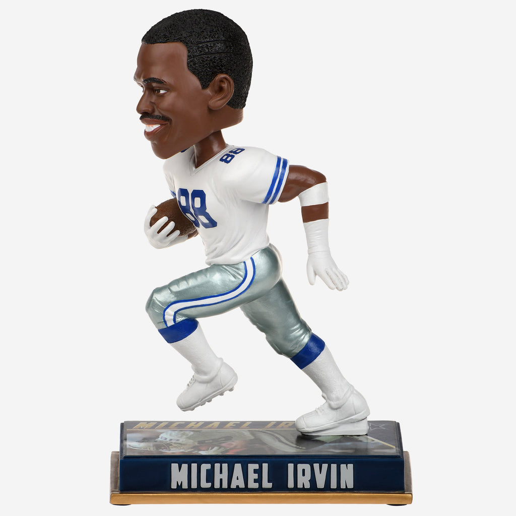 Michael Irvin Dallas Cowboys Retired Bobblehead FOCO - FOCO.com
